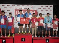 Kelvin Valentino (CWIBC) ~ Zhakaria (Tangkas) Semi Finalist Boys Doubles U19 Sirnas Yogyakarta 18-22 Agustus 2015_resize