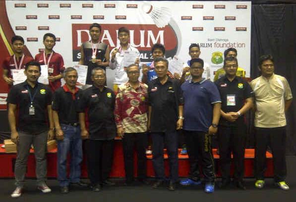 Rizki Adam~Raynald Tangguh Hartanto (CWIBC) Champion Boys Doubles U17 Sirnas Yogyakarta 18-22 Agustus 2015