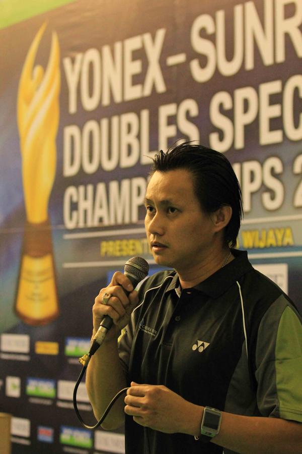 Sambutan Candra Wijaya di Kejuaraan YSDSC 2015