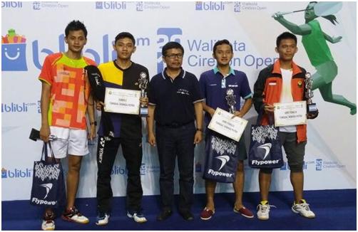 CWIBC Raih Dua Gelar di  Djarum Flypower Walikota Cup Cirebon 4-9 April – 2016