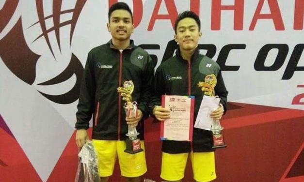 Rizky Adam/Raynald Tangguh Finalis Astec Open 2017