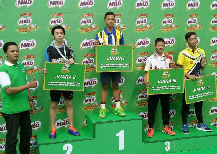 Damas Mawardi Putra, Milo Champion Pemula U15, Malang 27 – 31 September 20017